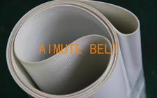 白色 哑光 平面 PU食品带 耐油 输送带 白色食品级输送带 平皮带