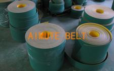 尼龙片基带 黄绿 平皮带 高速平带 纺织 磨床机皮带 厚度1mm-6mm 规格可定制