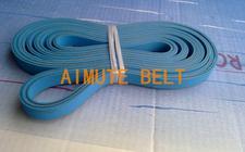 糊盒机皮带 粘盒机带 折叠输纸部位皮带 双面蓝平皮带 工业皮带