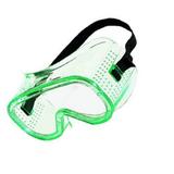 霍尼韦尔/Honeywell 1005504 LG10 直接通风经济型护目镜 绿色镜片 黑色固定带