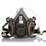 3M 620P尘毒呼吸防护套装 喷漆面罩 防尘防毒面罩 7件套 620P防毒面具7件套(1套)