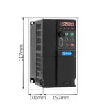 美捷伟通用220V 变频器 单相0.75KW 变频器厂家直销 内置简易PLC