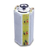 中翔科技 定做全铜线圈 接触式调压器9kva 三相柱式调压变压器9kw