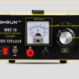 大型充电机定做批发 10A电流电压可调 12V 24V硅整流蓄电池充电机