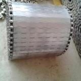 不锈钢平顶式链板耐磨耐腐304食品用环保材质重载传动用重型链板
