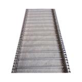 耐高温金属热处理链条式螺旋网带 304不锈钢材质 食品清洗输送带