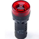 伊莱科 闪光蜂鸣器 扬声器报警器讯响器 12V 24V 220V通用