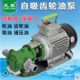 自吸齿轮泵