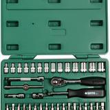 38件6.3MM系列套筒组套 09002