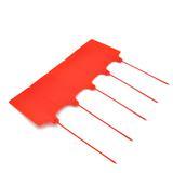 大牌子塑料封条一次性使用防调包换货快递物流封签255mm