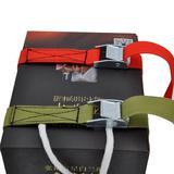 压扣捆扎带2.5cm锌合金收纳带