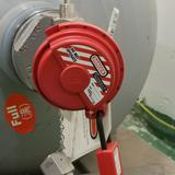 全绝缘工程塑料安全锁,红色,406MCNRED