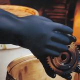氯丁橡胶手套(胶棉植绒内衬)