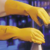乳胶手套(胶棉植绒内衬)