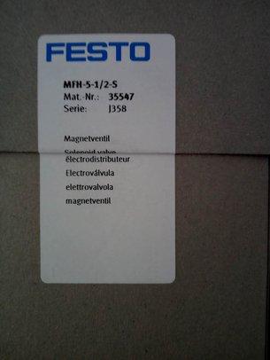 FESTO电磁阀MFH-5-1/2-S