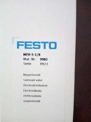 FESTO电磁阀MFH-5-1/8
