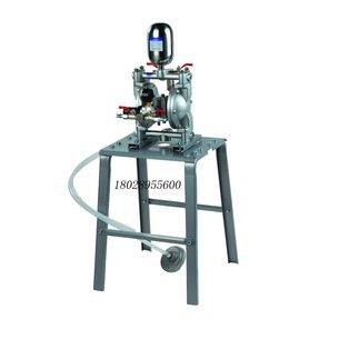 台湾狼王A10气动双隔膜泵、3分油泵涂料 油漆 喷枪供漆输送泵