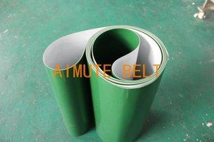 绿色输送带 流水线皮带 产品输送皮带 运输带 传动皮带 绿色胶带
