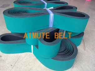 绿黑输纸带 传动带 进口工业皮带 进口印刷机输纸带 印刷机配件 打孔吸风皮带