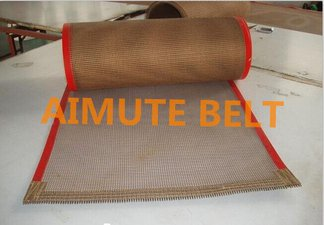 供应耐高温铁氟龙网带 UV光机皮带 UV机 固化机高温皮带 4*4网格