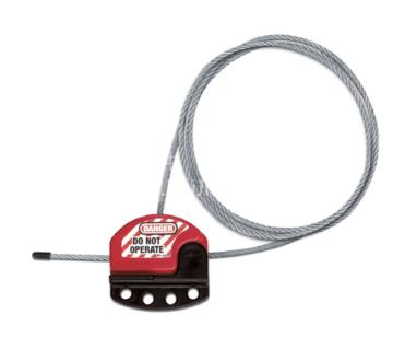 S806 可调节钢缆锁具