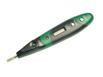双色带照明灯数显测电笔62602