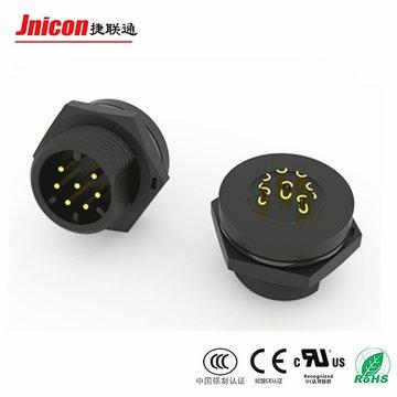 M19 3芯组装面板式防水连接器 IP68螺纹款航空接头 源头工厂