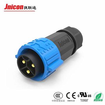 M25注塑式防水连接器 IP67尼龙料防水航空插头 电线电缆防水接头