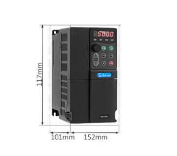 三相异步电机变频器 美捷伟低压通用矢量变频器 三相2.2KW 380V
