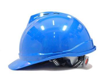 国产 优质 安全帽ABS材质V型透气舒适型建筑工地施工安全帽符合GB2811-2007国标