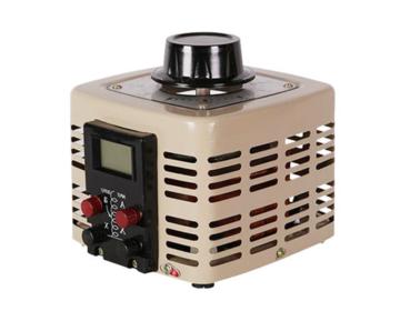 中翔科技 定制电子调压器 220v 单相接触式低频 数显调压器500w