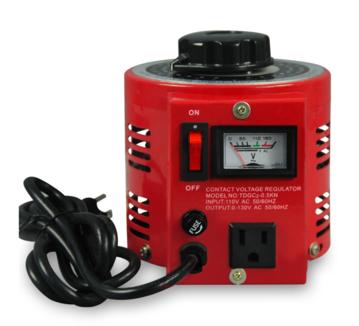 批发高精度低误差单相调压器 颜色插头插座可定制 美式调压器500w
