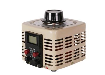 源头厂家 定制数显式调压器1kva 插头插座可选 接触式调压器1000w