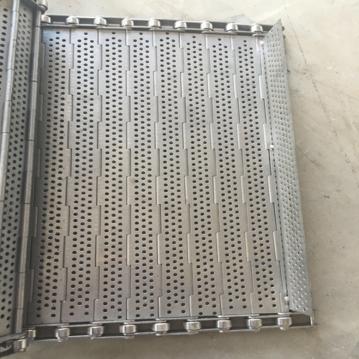 不锈钢输送链板 厂家定制 防水820链板 脱水冲孔链板节距 工业用