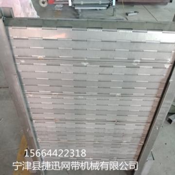 网带输送机 链板输送机 304不锈钢输送设备 耐高温网带传送流水线