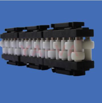 【上海颍盛机械】专业提供GZ-ZW-1单排转弯分道算盘护栏