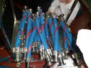 安徽合肥进口香精香料排吸输送柔性高压高温软管AGRABLU S&D 10