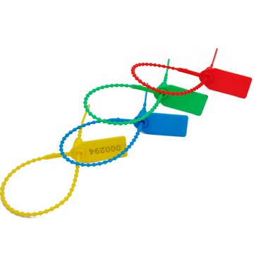 塑料封条250一次性使用防盗防调包封签