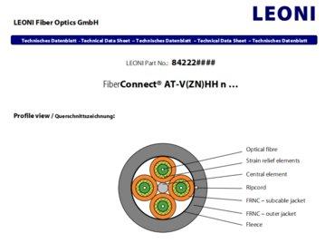 LEONI光纤AT-V(ZN)HH / LEONI Q_line AT-VH 2x1G 62.5/125