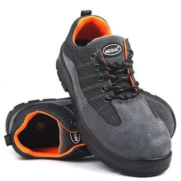 舒透款灰色安全鞋(防砸、防刺穿、防静电)