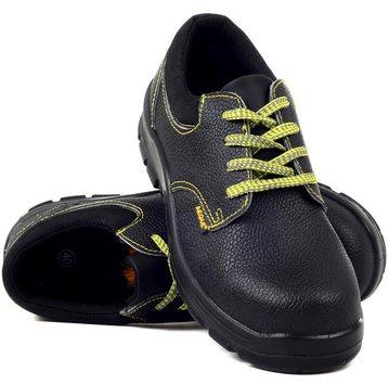 时尚款耐高温橡胶底低帮安全鞋(防砸、防静电)