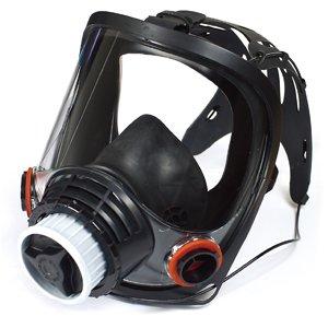 硅胶速超级速戴型全面罩(接滤盒)